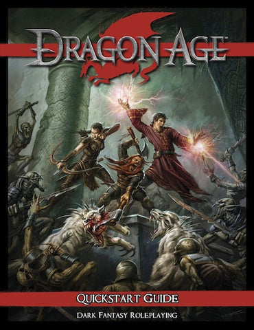 Dragon Age RPG Quickstart Guide (PDF)