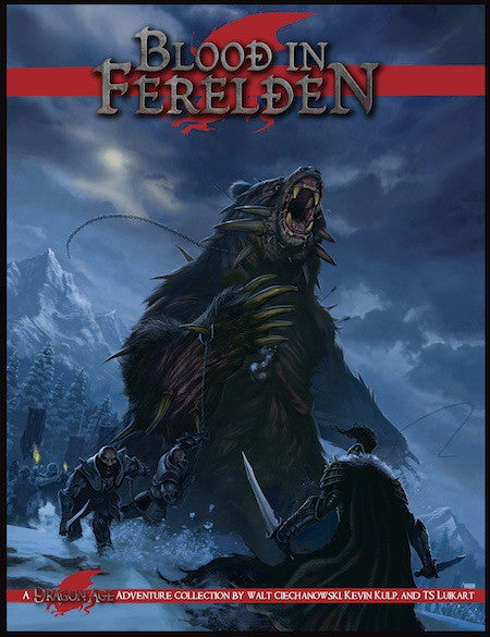 Dragon Age: Blood in Ferelden (Print)