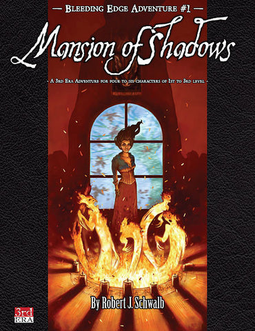 Bleeding Edge Adventures #1: Mansion of Shadows (PDF)