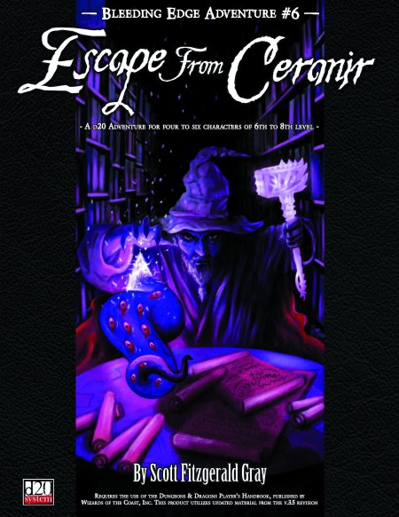 Bleeding Edge Adventures #6: Escape from Ceranir (PDF)