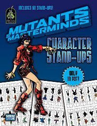 Mutants & Masterminds Character Stand-Ups (PDF)