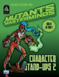Mutants & Masterminds Character Stand-Ups 2 (PDF)