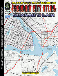 Freedom City Atlas 2: The Scarab's Lair (PDF)