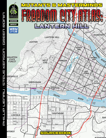 Freedom City Atlas 4: Lantern Hill (PDF)