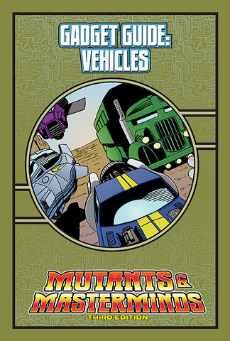 Mutants & Masterminds Gadget Guide: Vehicles (PDF)