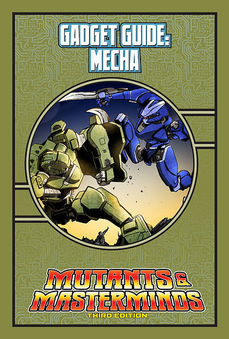 Mutants & Masterminds Gadget Guide: Mecha (PDF)