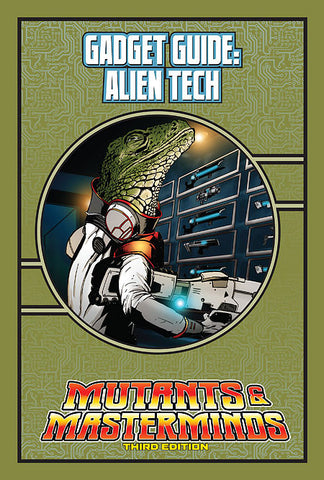 Mutants & Masterminds Gadget Guide: Alien Tech (PDF)