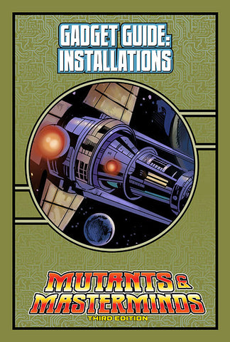 Mutants & Masterminds Gadget Guide: Installations (PDF)