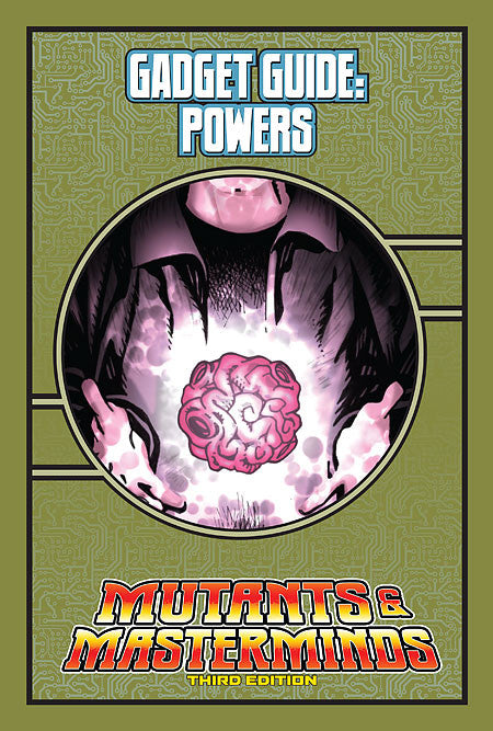 Mutants & Masterminds Gadget Guide: Powers (PDF)