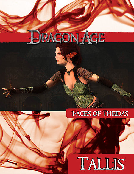 Dragon Age Faces of Thedas: Tallis (PDF)
