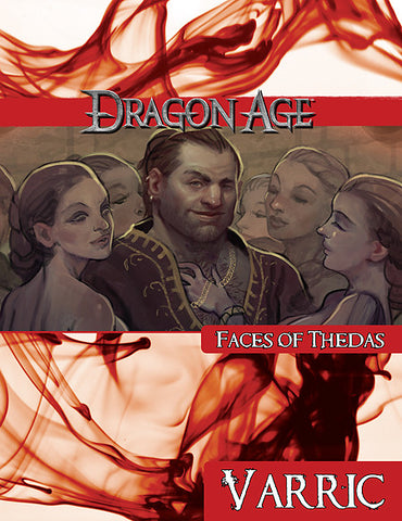 Dragon Age Faces of Thedas: Varric (PDF)
