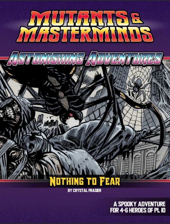 Astonishing Adventures: Nothing To Fear (PDF)