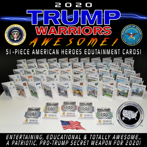 FULL 51-piece TRUMP WARRIORS SET