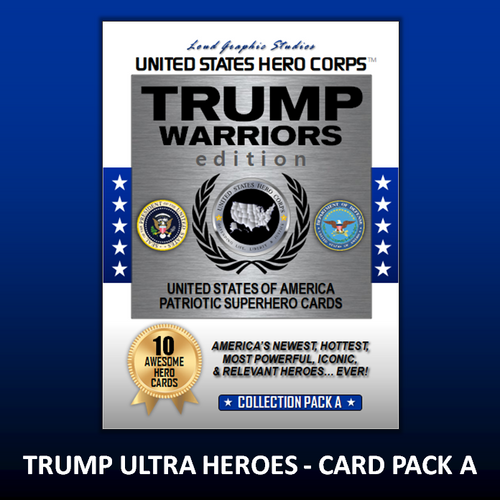 USHC TRUMP Warriors Hero Collection Card Pack - A