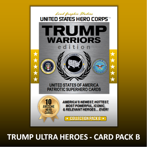 USHC TRUMP Warriors Hero Collection Card Pack - B