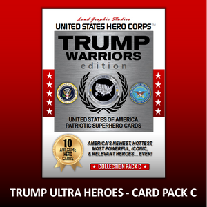 USHC TRUMP Warriors Hero Collection Card Pack - C