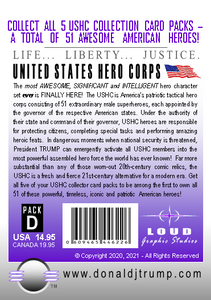 USHC TRUMP Warriors Hero Collection Card Pack - D