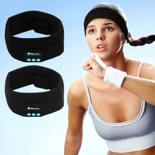 Load image into Gallery viewer, Wearable Technology Bluetooth Headband With Microphone