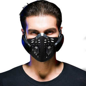Wireless, Dust-Resistant, Anti-Pollution, Bone Conduction Headphone Mask