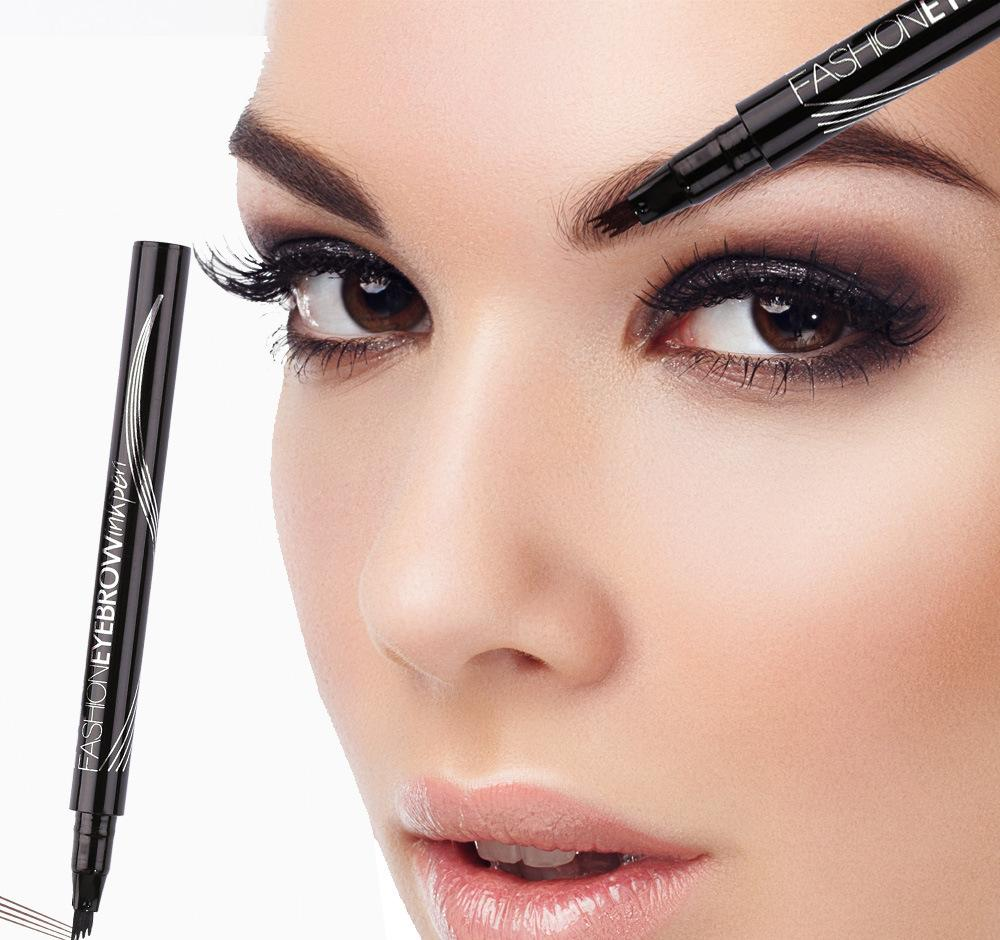 four-headed claw eyebrow pencil Six colors supply