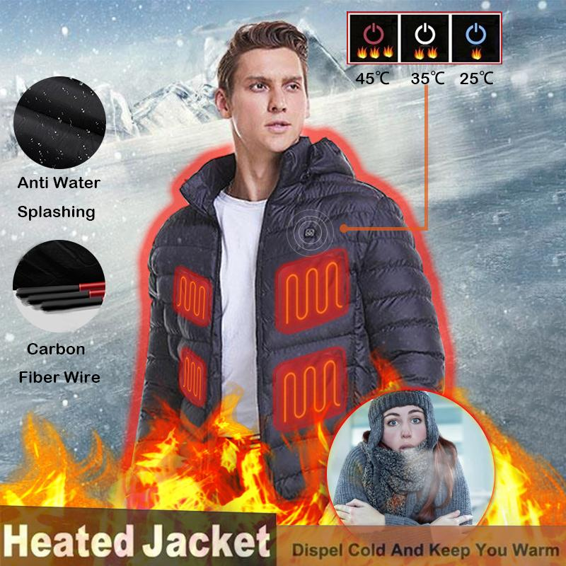 (Black Friday Pre-sales-50%Off) -Smart hot down jacket - Best Xmas Gift