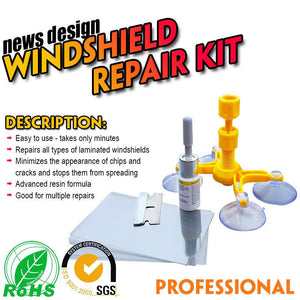 Glass Corrector Set suit car windshield and other glass repair