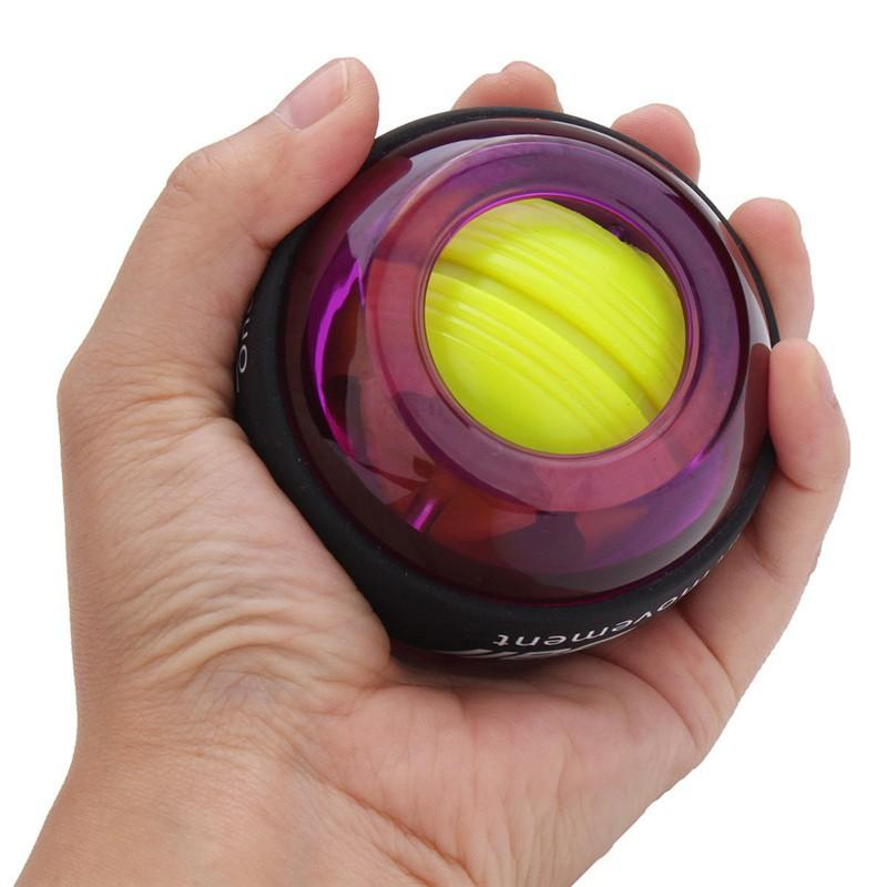 LED Wrist ball Trainer Relax Gyroscope Ball Muscle Power Ball