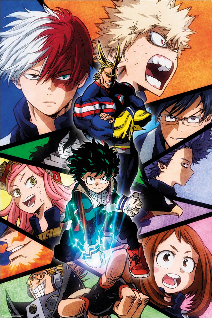 My Hero Academia : Season 2 on Netflix !