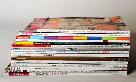 Stacks press cover magazines