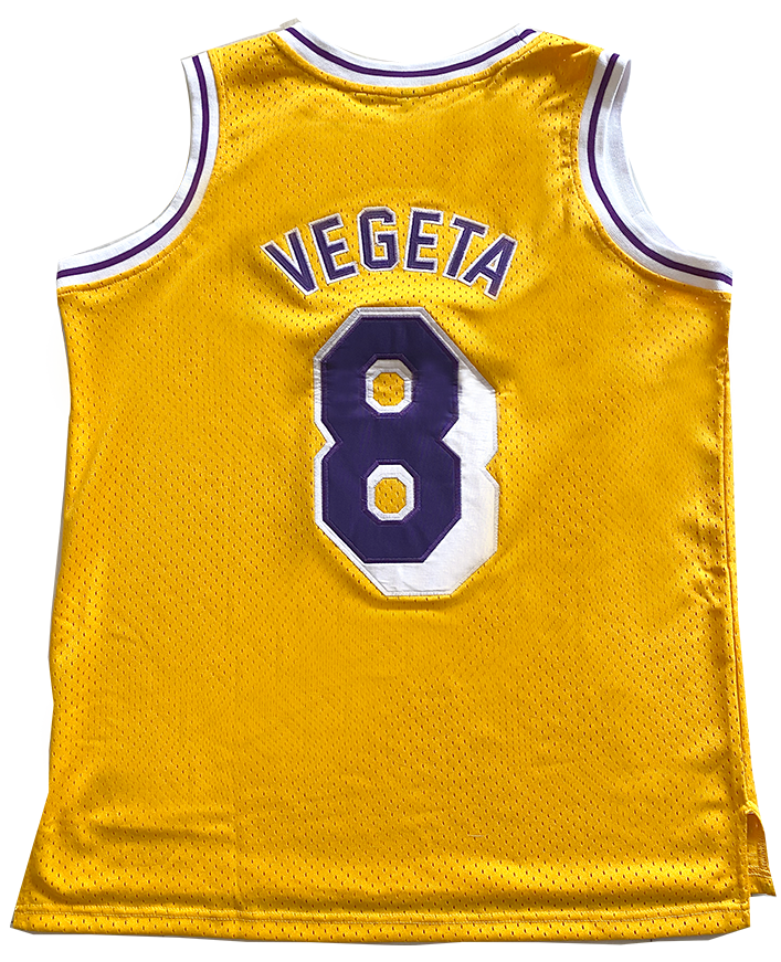 Saiyans Vegeta Basketball Jersey
