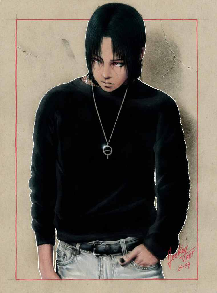 Daomey-Art-Collection-itachi-naruto-manga-Painting