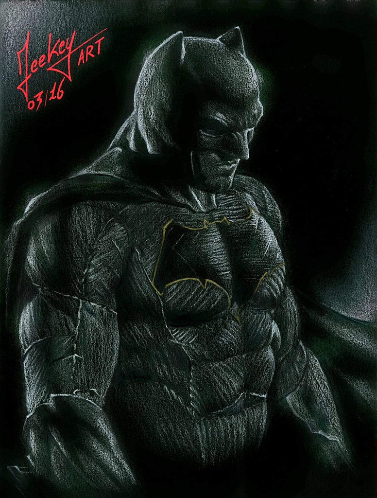 Daomey-Art-Collection-thedarkknight-marvel-Painting