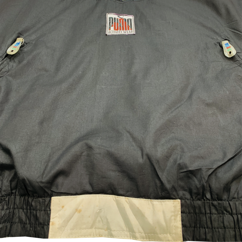 Puma Half Zip Up Windbreaker 90's