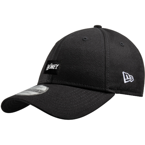 black new era snap back cap