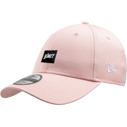 new era pink snap back