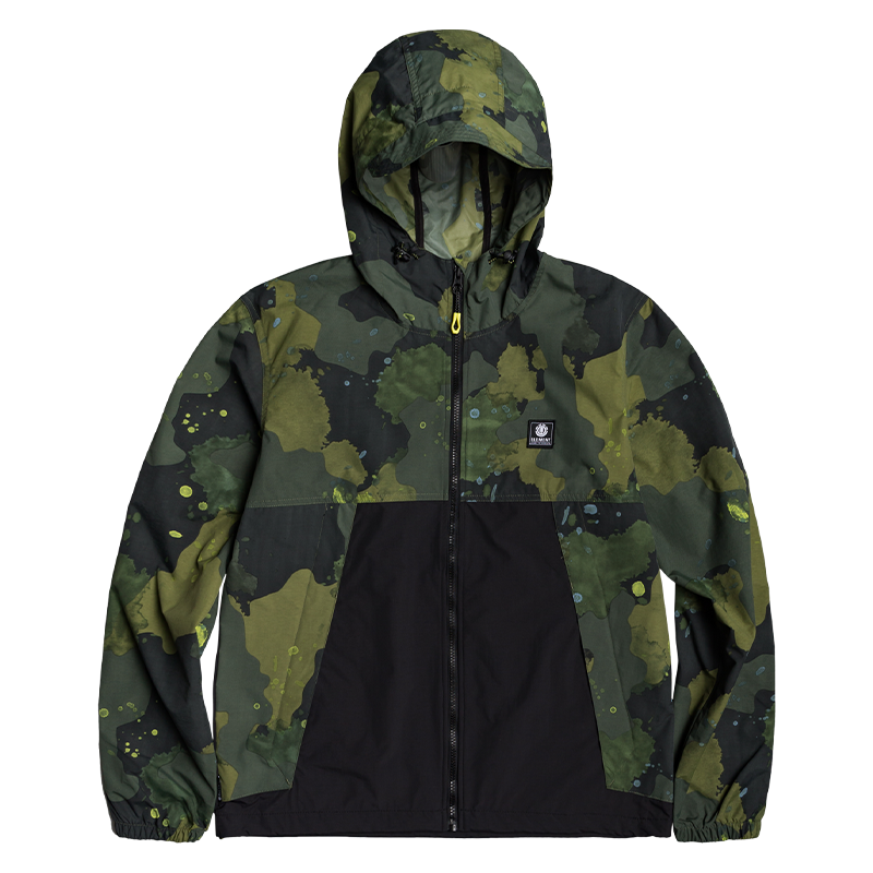 Water-Resistant Camo Jacket - ELEMENT