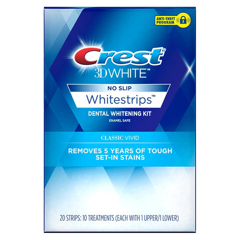 Crest 3D Whitestrips Vivid Teeth Whitening - Crest Whitestrips United Kingdom