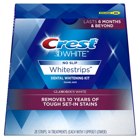 Crest 3D Whitestrips Glamorous White Advanced Vivid - Crest Whitestrips United Kingdom