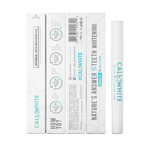 VEGAN Botanical Teeth Whitening Pen - Zero Peroxide - Crest Whitestrips United Kingdom