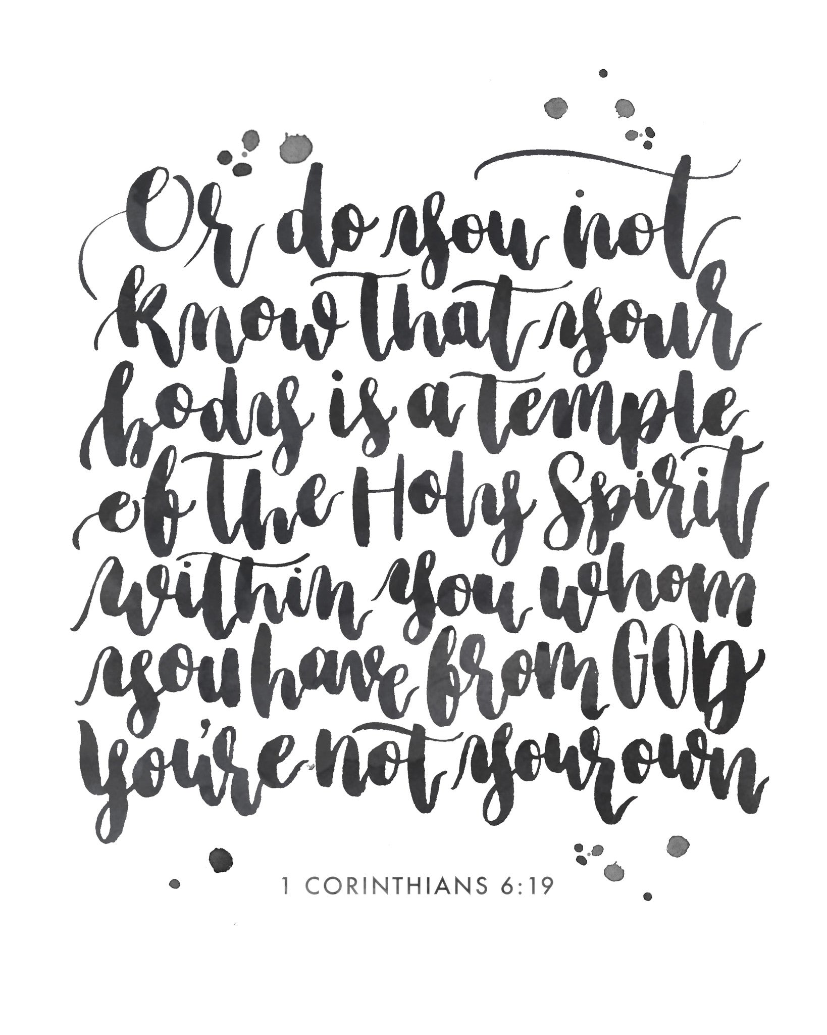 I am a Temple of the Holy Spirit | Day 32