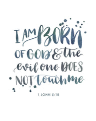 I am born of God | 1 John 5:18