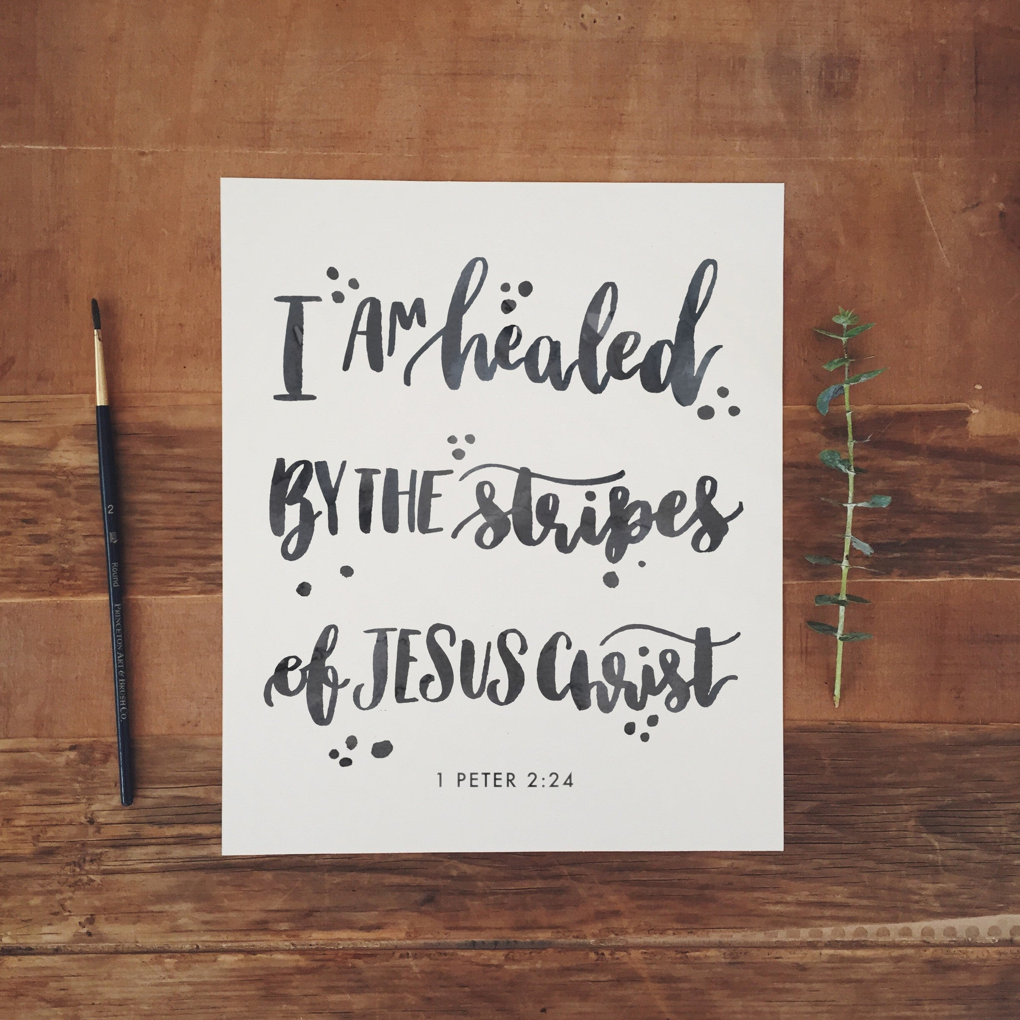 I am Healed by the Stripes of Jesus | Day 41