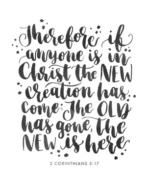 I am a New Creature in Christ | 2 Corinthians 5:17 | Day 21