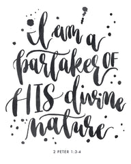 I am a Partaker of His Divine Nature | Day 28