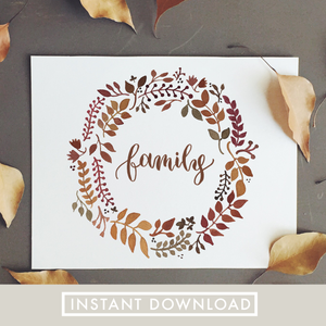 Family | 8x10 Download