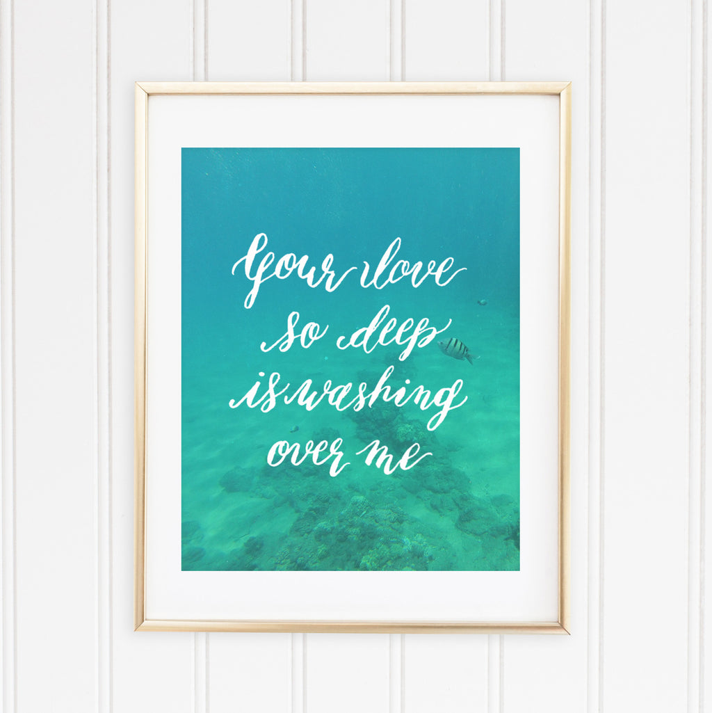 "Love So Deep  | 8""x10"" Art Print"