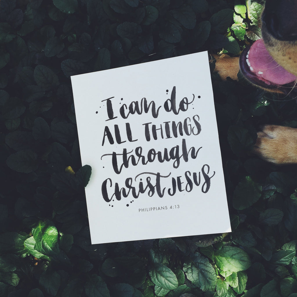 I can do all things | Philippians 4:13 | Day 17