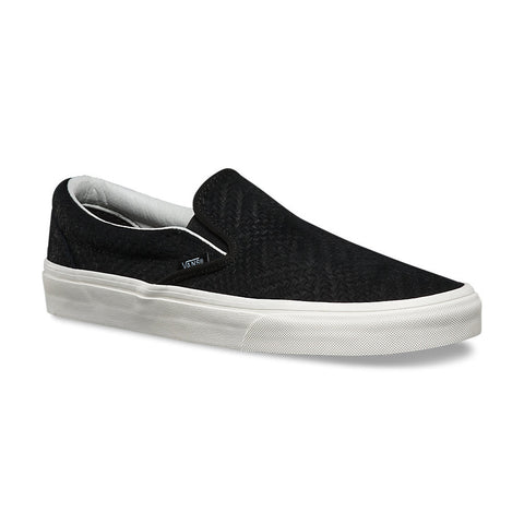 Braided Suede Slip-On