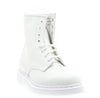 Womens 1460 8 Eye Mono White