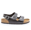 Mens Milano Soft Footbed Black Amalfi Leather